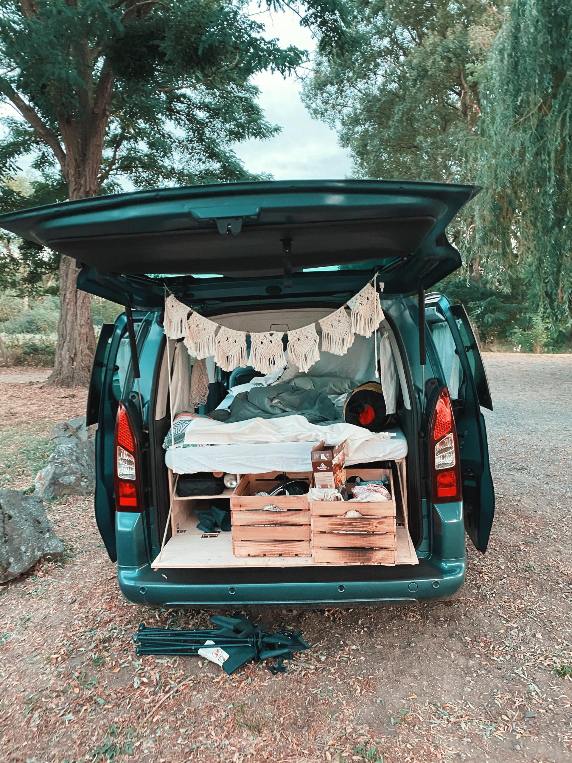 Berlingo Campervan – Vom Familienauto zum Miniwohnmobil
